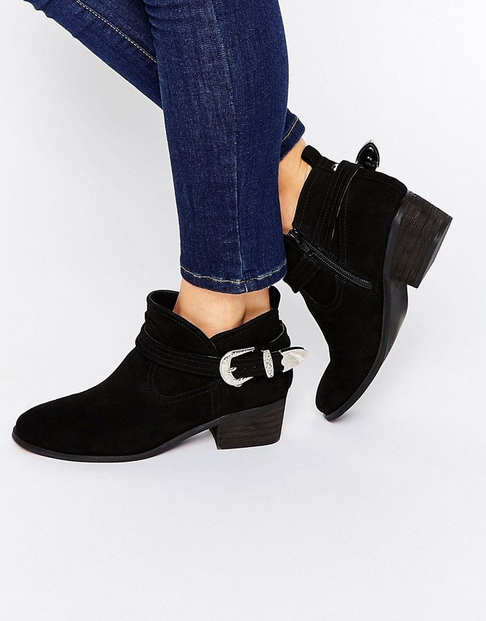 Asos Ada Western Ankle Boots | Where to buy & how to wear