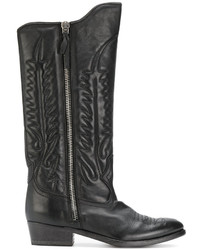 Golden Goose Deluxe Brand Pointed Toe Cowboy Boots