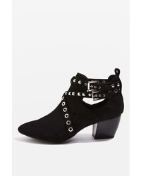 Topshop Kas Western Ankle Boots