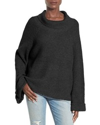Cowl neck shaker pullover medium 1055162