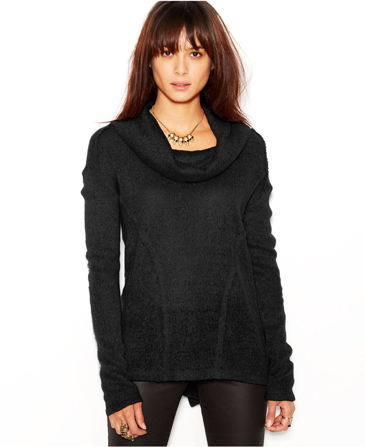 Sanctuary Freestyle Long Sleeve Cowl Neck Sweater | Where to buy ...