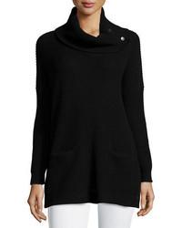 Long sleeve cowl neck chunky pullover medium 353650