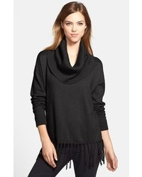 Women's Black Cowl-neck Sweaters by MICHAEL Michael Kors | Women's ...