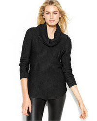 Calvin Klein Ribbed Cowl Neck Sweater