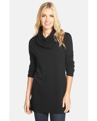 Side slit cowl neck tunic medium 353647