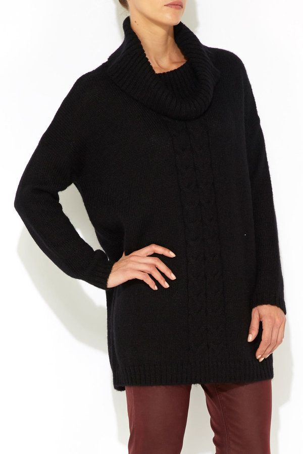 Wallis Black Cowl Neck Jumper | Where to buy & how to wear
