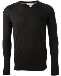 Black Crew-neck Sweater
