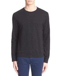 A.P.C. Long Sleeve Tweedy Jersey T Shirt