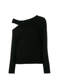 Vince Asymmetric Cut Out Sweater