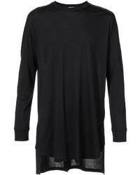Balmain Asymmetric Longsleeved T Shirt