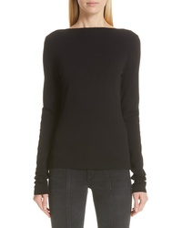 Givenchy Back Lace Inset Sweater