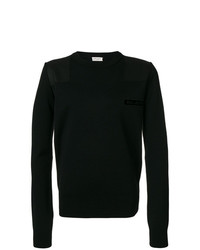 Saint Laurent Bad Lieutenant Patch Jumper