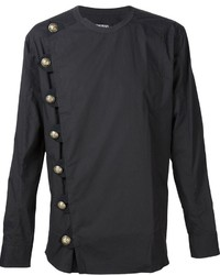 Balmain Side Button Shirt