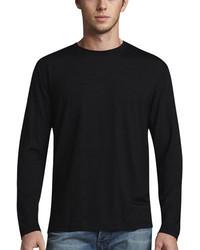 Derek Rose Basel 1 Long Sleeve Jersey Tee Black