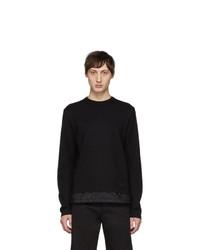 Prada Black Bi Fabric Sweater