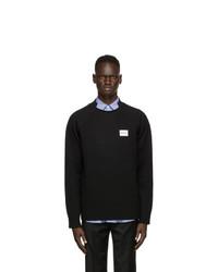 Ader Error Black Calligraphies Sweater