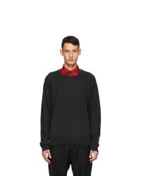 Dries Van Noten Black Cashmere Sweater