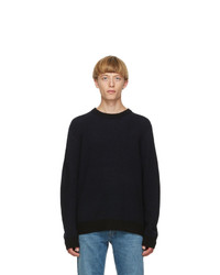 Acne Studios Black Cashmere Sweater