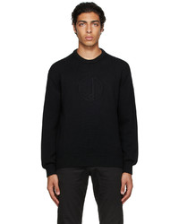 Dunhill Black D Sweater