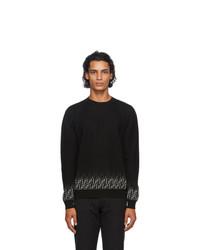 Fendi Black Degrade Forever Sweater