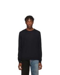 Balenciaga Black Fine Wool Sweater