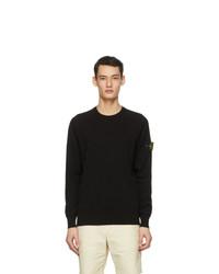 Stone Island Black Knit Sweater