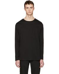 Helmut Lang Black Long Sleeve T Shirt
