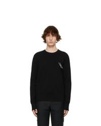 Givenchy Black Padlock Sweater