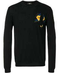 Fendi Butterfly Detail Sweatshirt