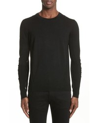 Burberry Carter Merino Wool Crewneck Sweater
