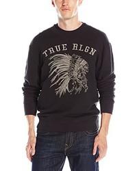 True Religion Chief Embroidered Sweatshirt