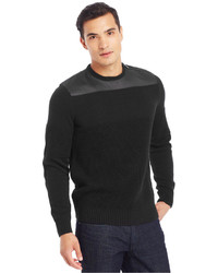 Kenneth Cole Reaction Coated Crew Neck Sweater