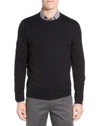 Cotton cashmere crewneck sweater medium 8646941