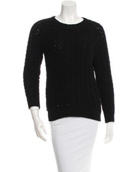Theyskens' Theory Crew Neck Knit Sweater