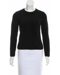 Blumarine Crew Neck Long Sleeve Sweater