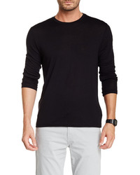 J Brand Dario Crew Neck Wool Blend Sweater