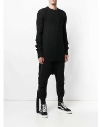 Unravel Project Distressed Long Sleeve Sweater