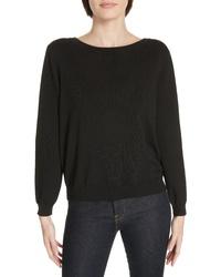 BA&SH Dolina Embellished Back Sweater
