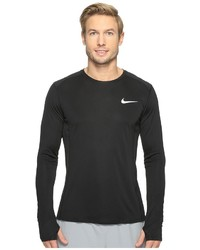 Nike Dry Miler Long Sleeve Running Top Clothing