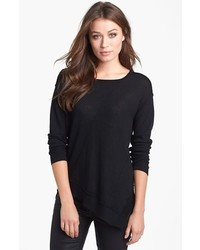 Eileen Fisher Seam Detail Sweater Black Small