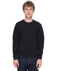 American Apparel Flex Fleece Crew Neck Pullover Sweatshirt