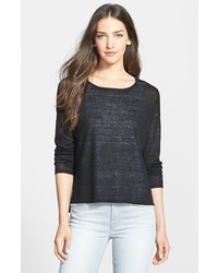 Eileen Fisher Linen Blend Boxy Sweater