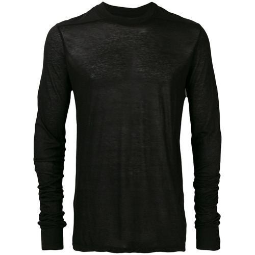 Rick Owens DRKSHDW Long Sleeve Fitted Sweater