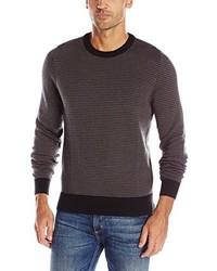 AXIST Long Sleeve Herringbone Crewneck Sweater