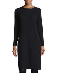 Eileen Fisher Long Sleeve Ribbed Cashmere Drama Tunic