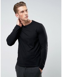 Asos Long Sleeve T Shirt With Crew Neck