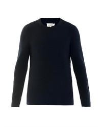 Maison Martin Margiela Micro Weave Crew Neck Sweater