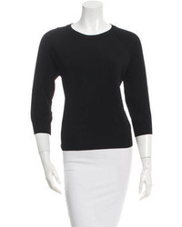 Michael Kors Michl Kors Three Quarter Sleeve Crew Neck Sweater