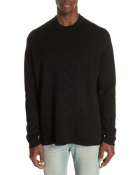 Acne Studios Nicha Wool Cotton Blend Sweater