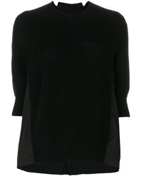 Panel insert sweater medium 5206968
